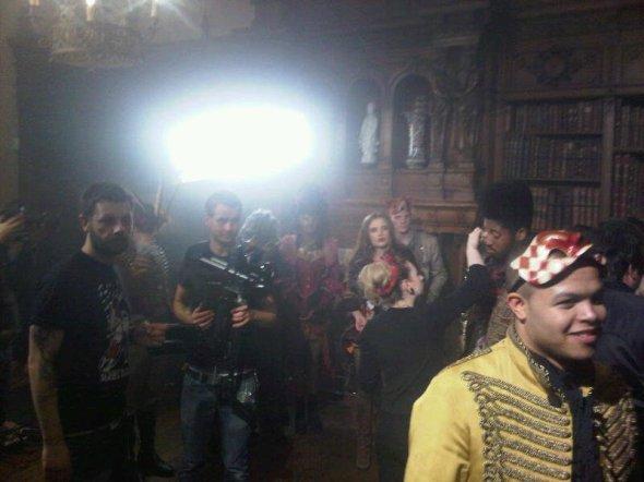 Dancers On Set